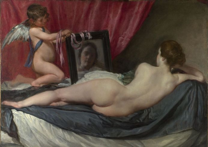 Velazquez, Diego: The Rokeby Venus. Fine Art Print/Poster. Sizes: A4/A3/A2/A1 (00274)